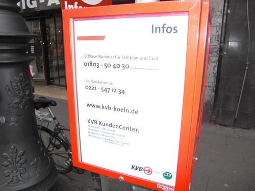 kvb information chlodwigplatz koelner verkehrs betriebe