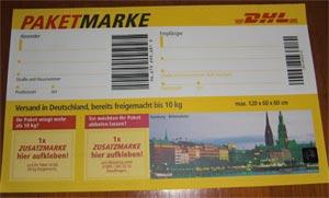 paketmarke
