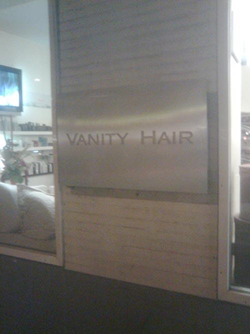 vanityhair