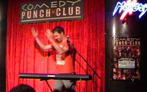 In meiner Unterhose live on stage