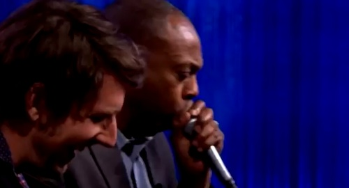 "Michael Winslow play Led Zeppelin ""Whole Lotta Love"""