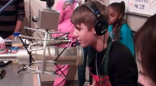 Justin Bieber Fresstyle Rap