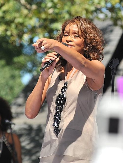 Whitney Houston tot rip