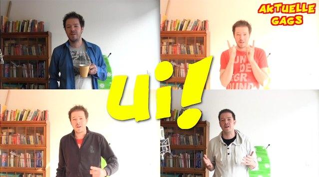 """der trailer für """"ui der vlog"""" auf youtube"""