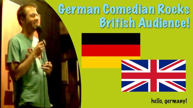 deutscher comedian comedy in london