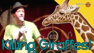 kiilling giraffes