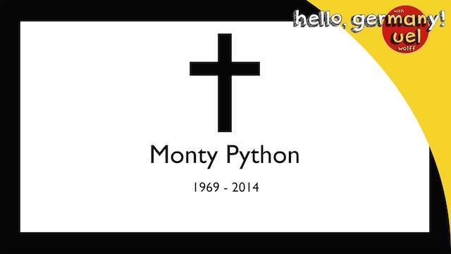 german tells monty python's funniest joke in the world