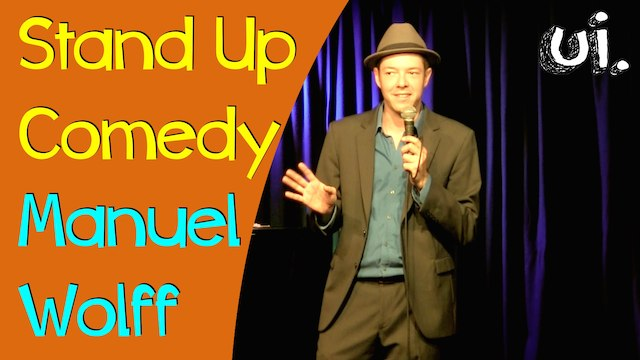 Stand Up Comedian Manuel Wolff