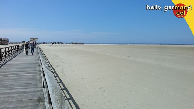 germany beach st peter ording