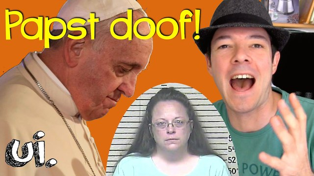 papst trifft kim davis