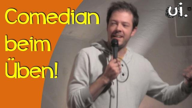 offene buehnen wo comedians ueben